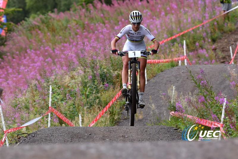 Jolanda Neff lors des derniers Championnats d'Europe