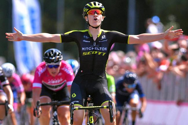Jolien D'Hoore s'impose sur le Giro Rosa 2018
