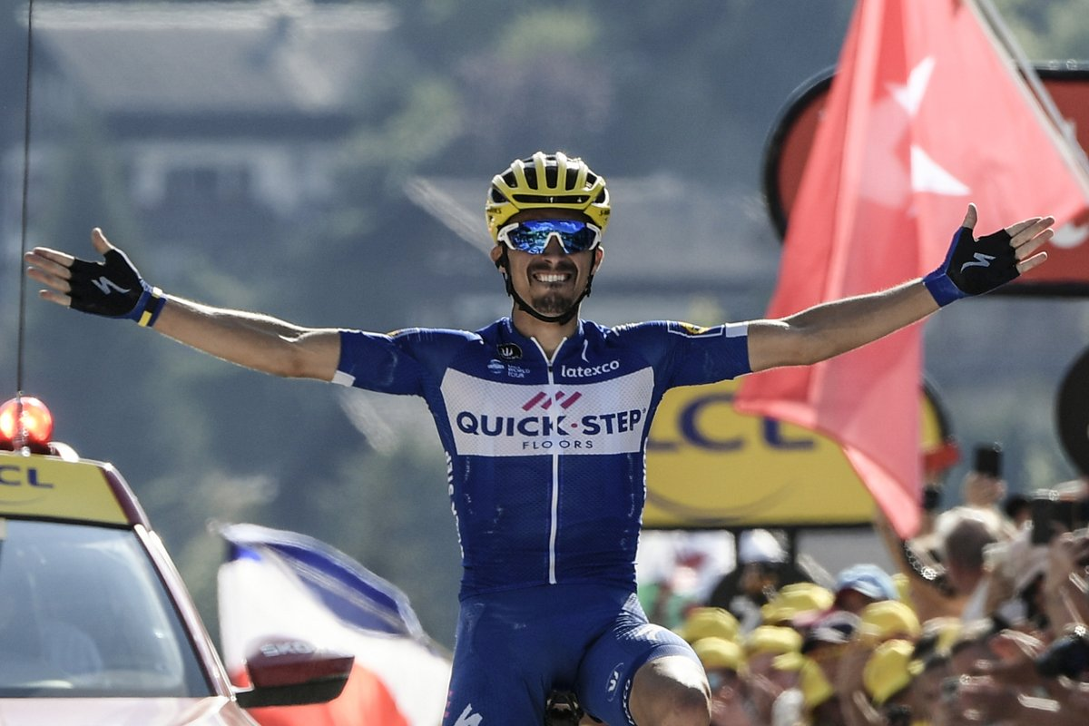 Julian Alaphilippe remporte la Clasica San Sebastian