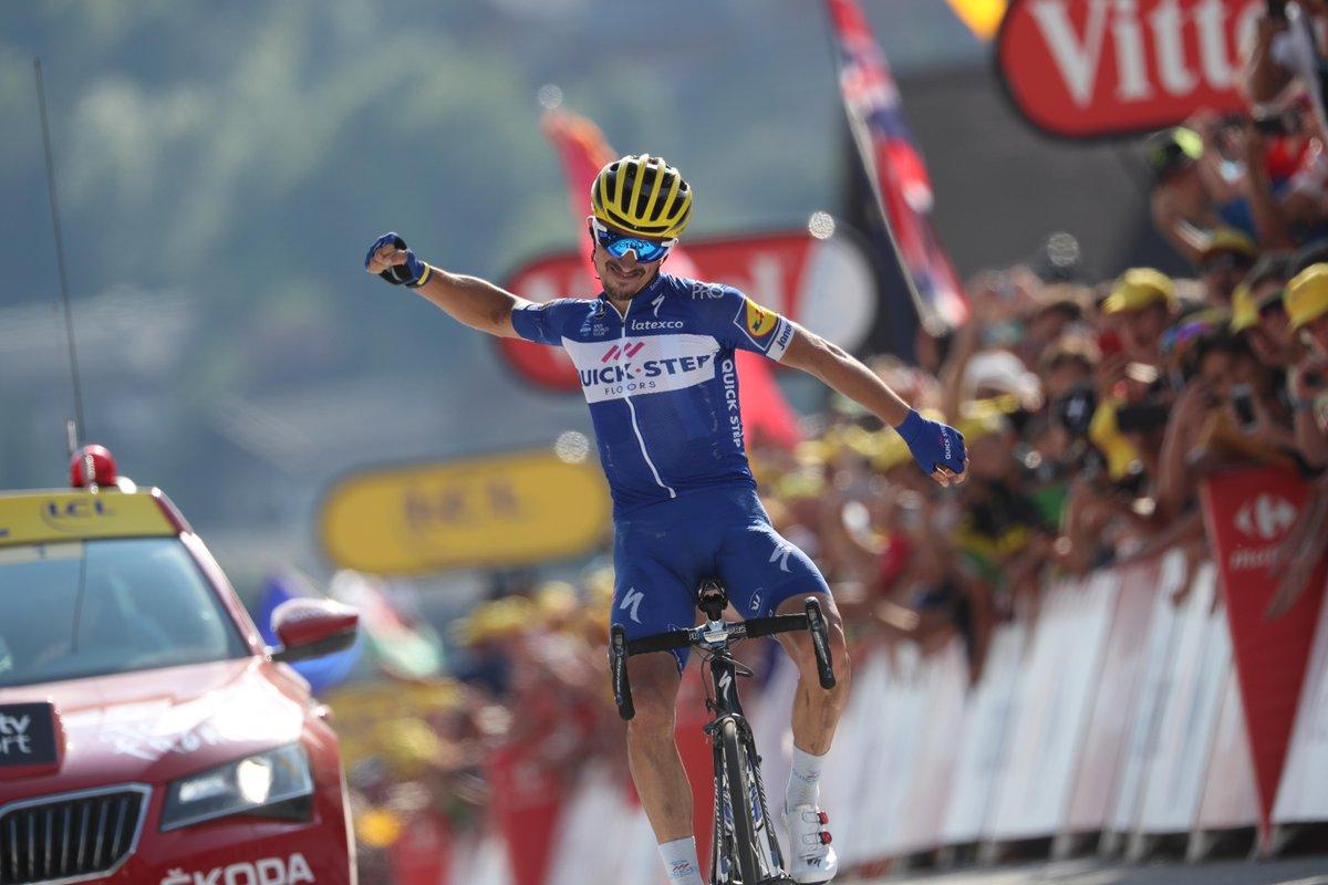 julian Alaphilippe Tour de France Grand Bornand