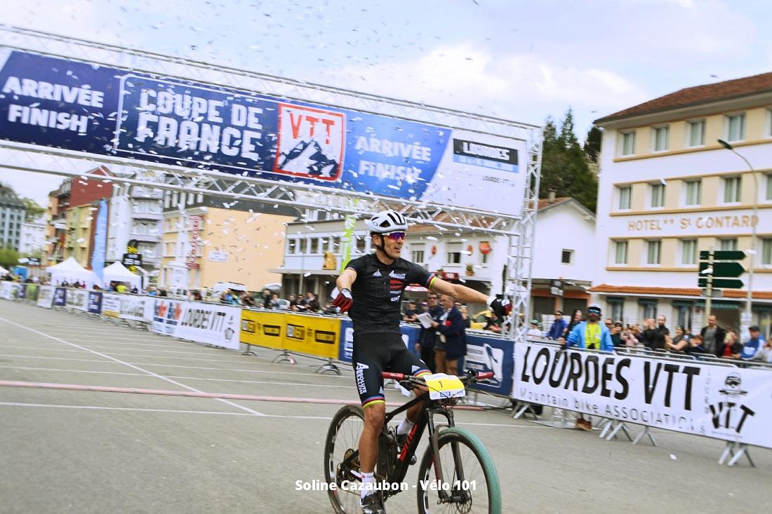 Julien Absalon Victoire CDF VTT #2