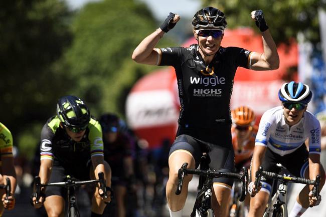 K. Wild s'impose à Ovada sur le Giro Rosa 2018