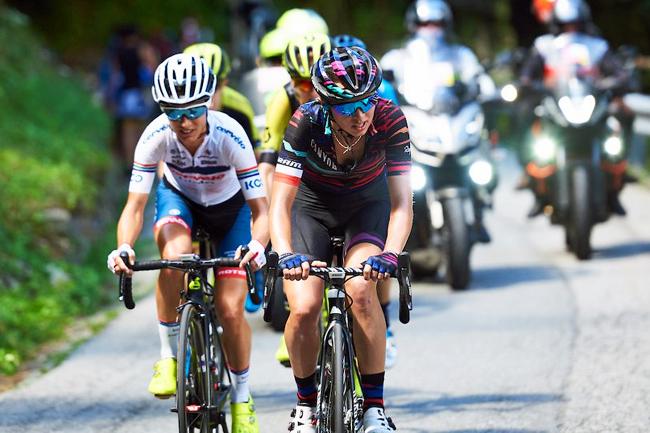 Kasia Niewiadoma sur le Giro Rosa 2018