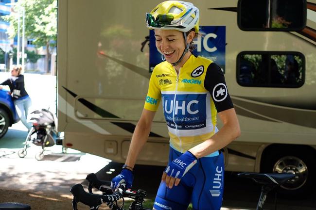 Katie Hall remporte le Tour de Californie 2018
