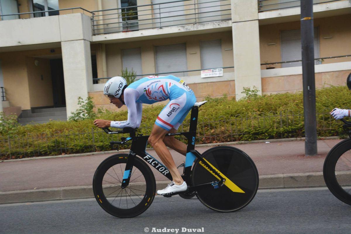 Kevin Geniets CLM Tour de l'Avenir