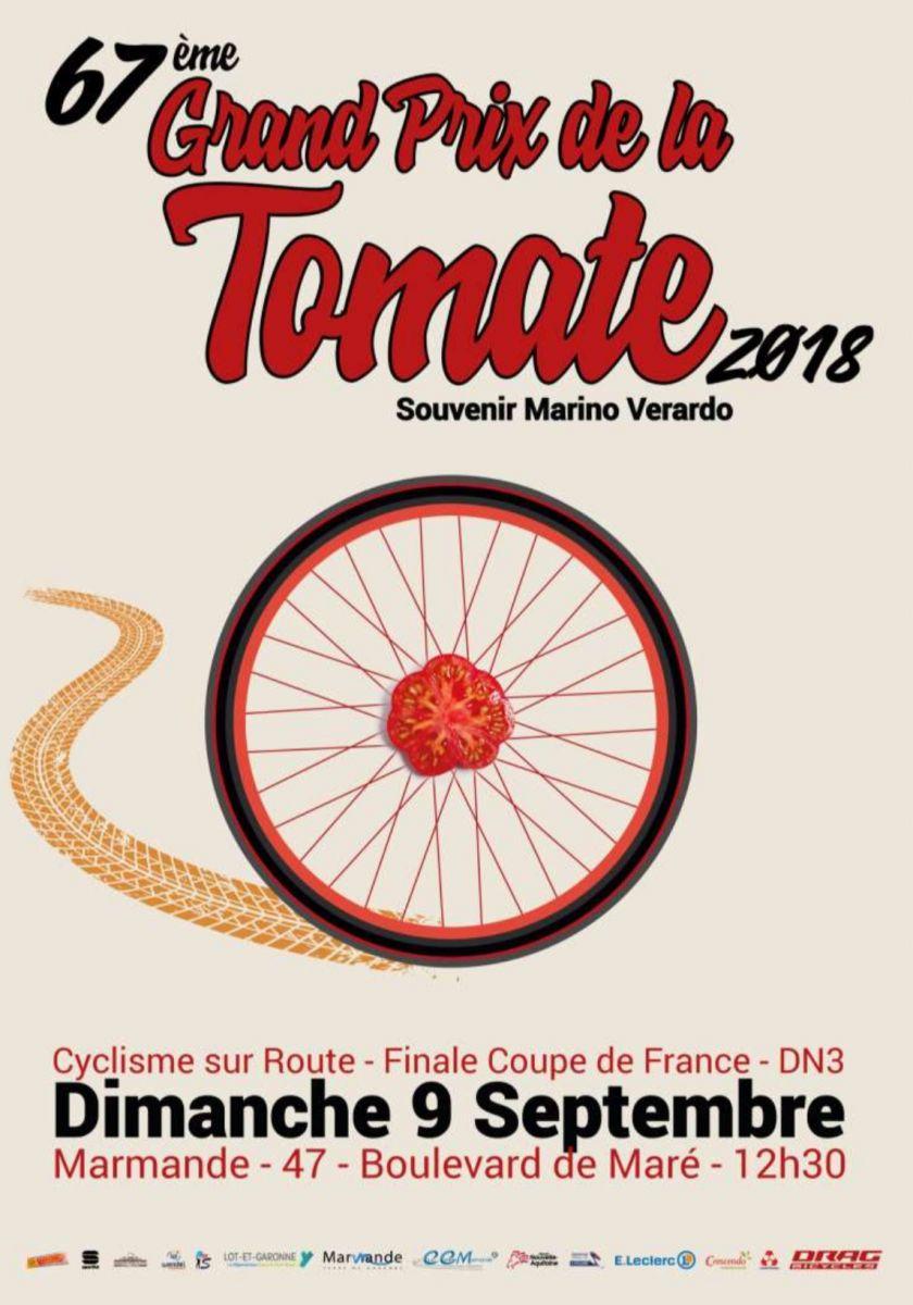 L'affiche du GP de la Tomate 2018