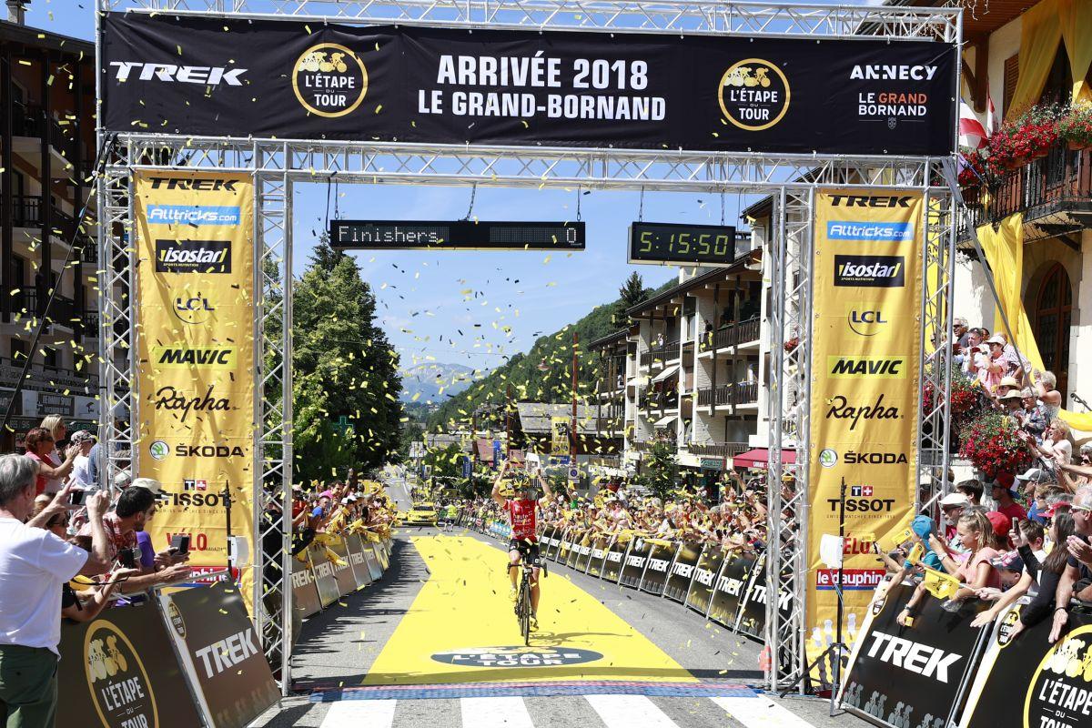 L'étape du Tour Victor Lafay