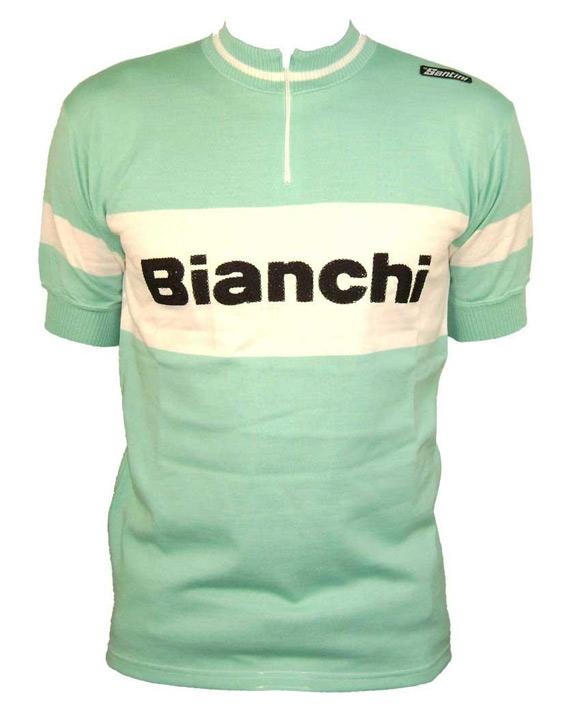 L'histoire des maillots : Bianchi