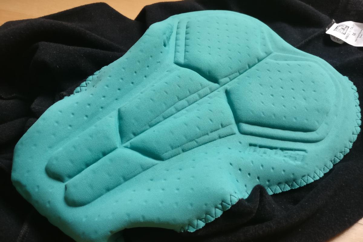 La peau de chamois GITevo équipe le cuissard Vega