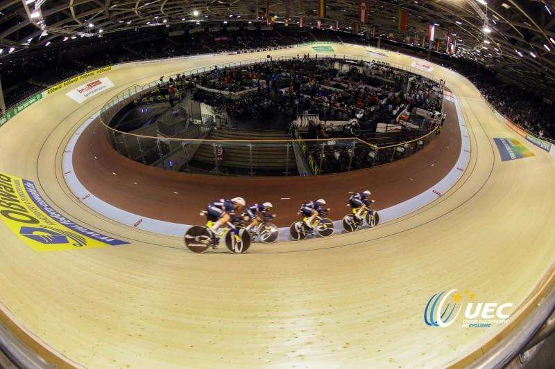 La poursuite française aux championnats d'Europe