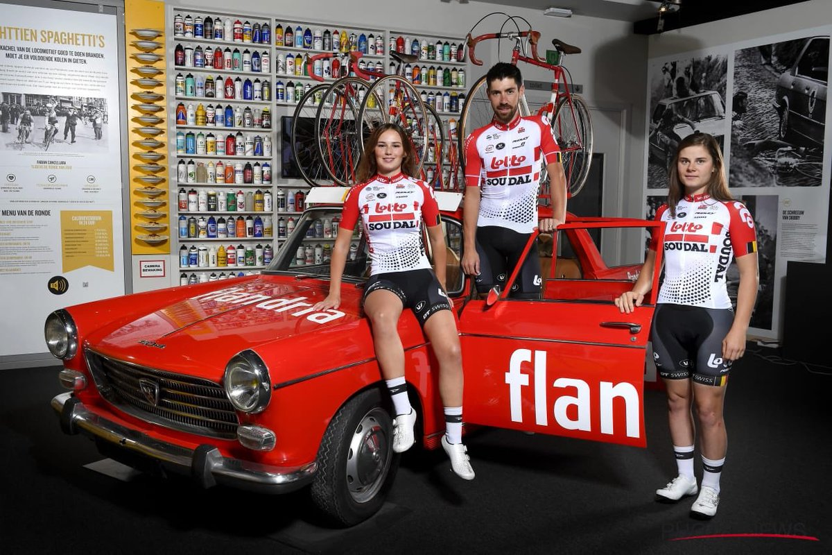 La tunique 2019 de la Lotto Soudal
