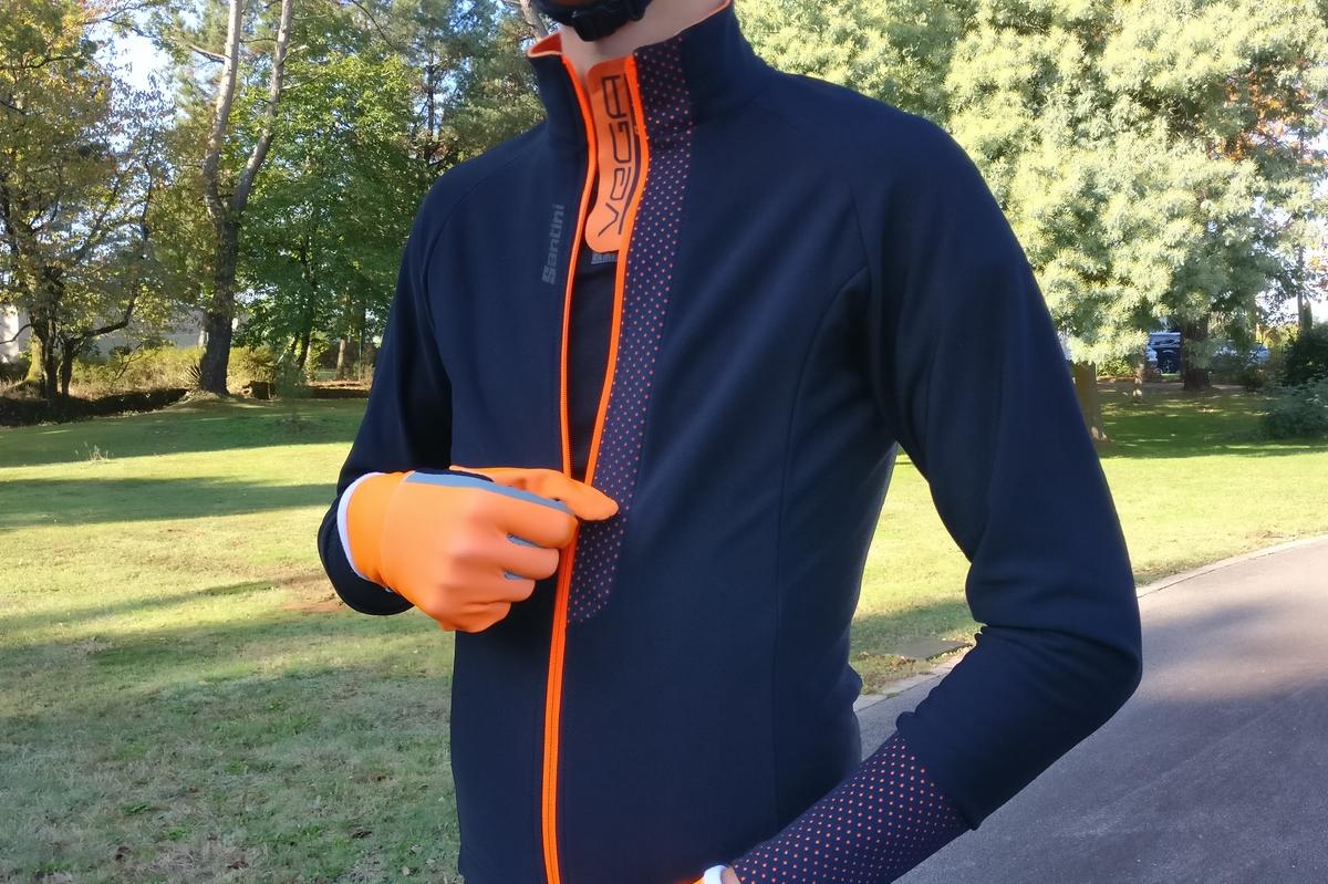 Le maillot Santini Vega, parfait produit d'automne