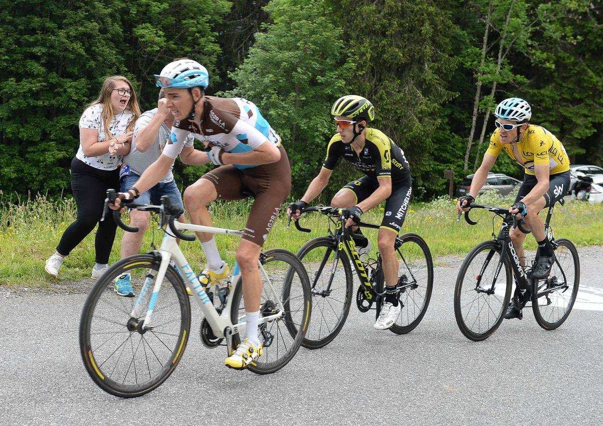 Le podium du Dauphiné 2018
