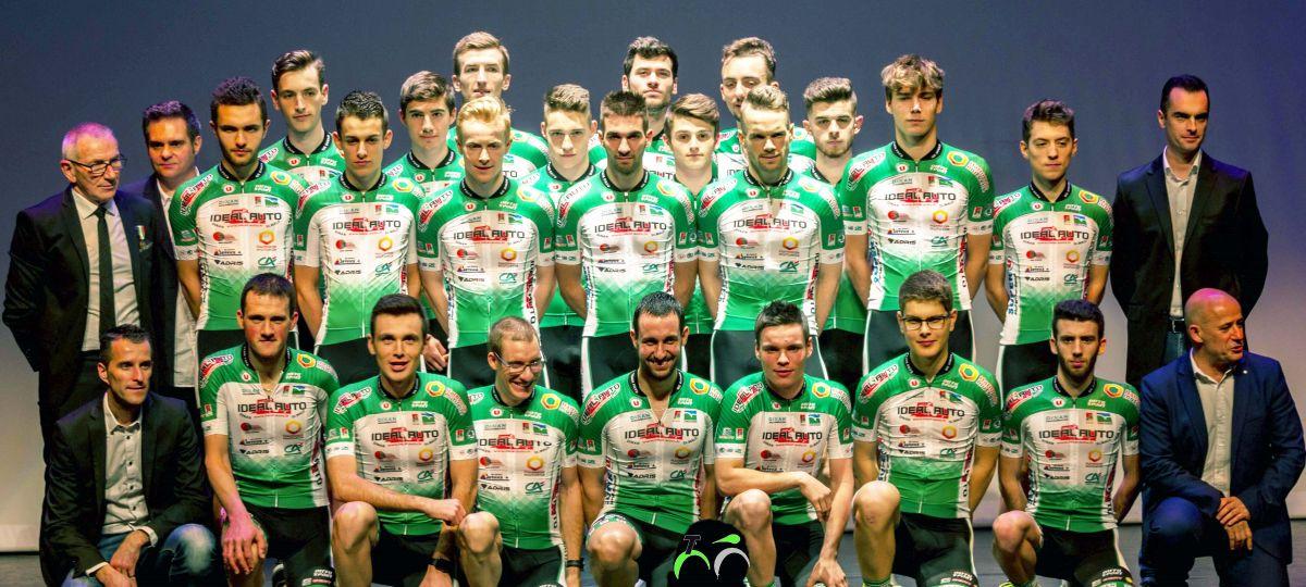 Le Team Pays de Dinan, en début de saison