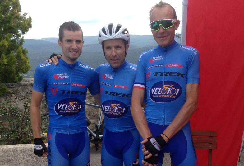 Le Team Trek Velo 101 lors de la Ventoux Sud