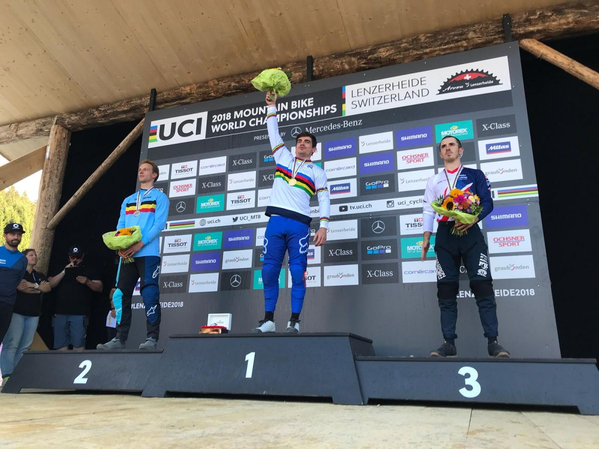 Loïc Bruni, champion du monde à Lenzerheide