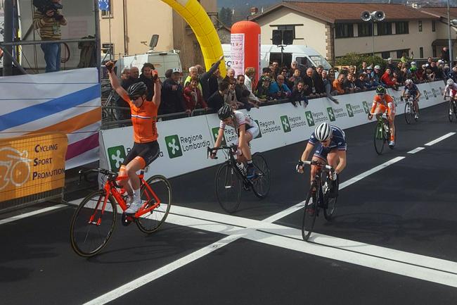 Lorena Wiebes gagne le Trofeo Da Moreno 2017