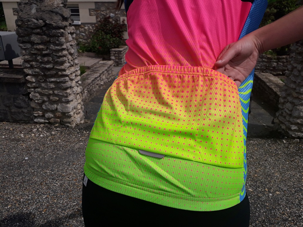 Maillot Rainbow La Bicycle poches