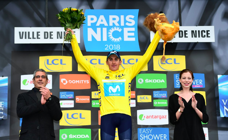 Marc Soler Vainqueur de Paris Nice 2018