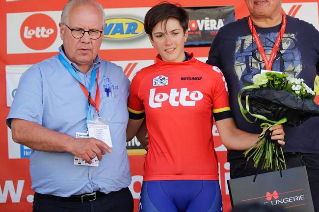Maria-Giulia Confalonieri leader de la Lotto Cycling Cup 2018
