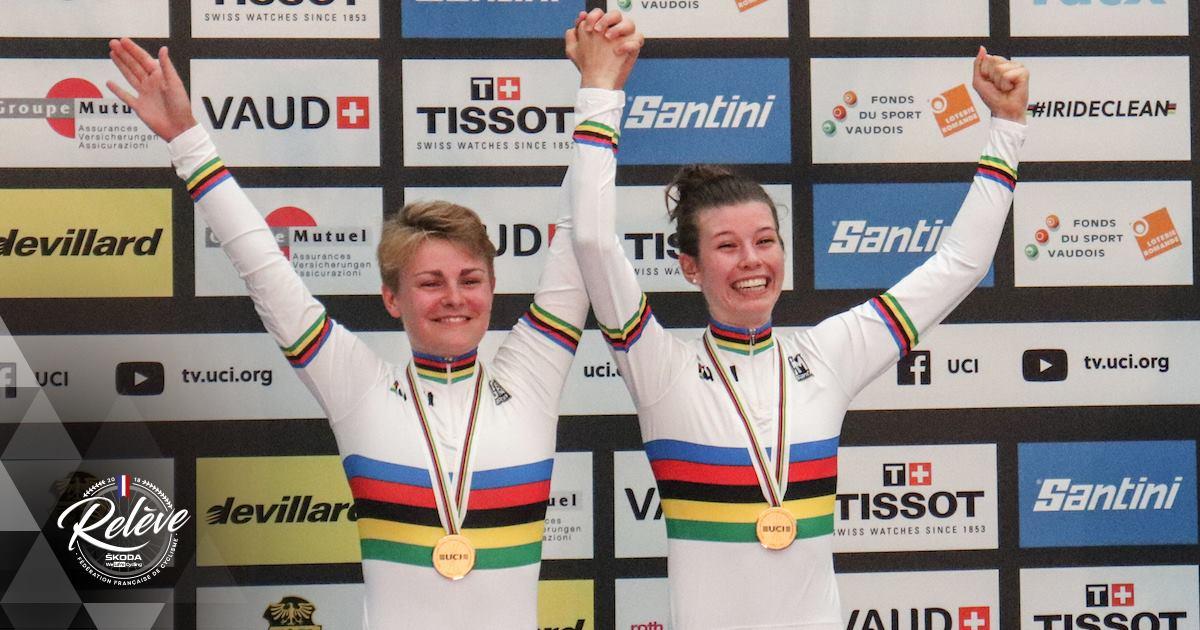 Marie Le Net et Victoire Berteau championnes du monde de l'américaine