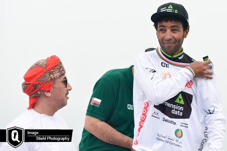 Merhawi Kudus avec le maillot blanc