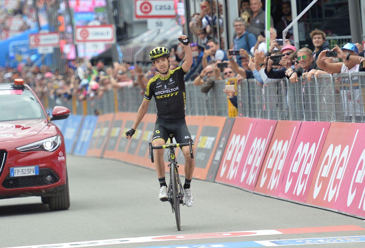 mikel Nieve 20ème étape Giro