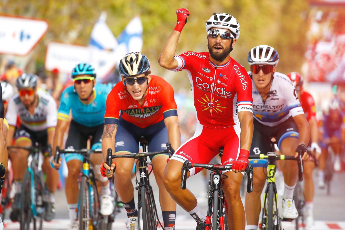 Nacer Bouhanni victoire La Vuelta 2018