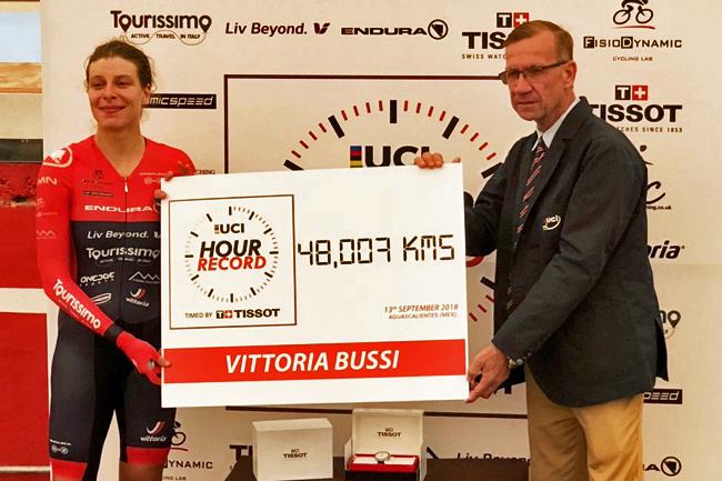 Nouveau record pour Vittoria Bussi