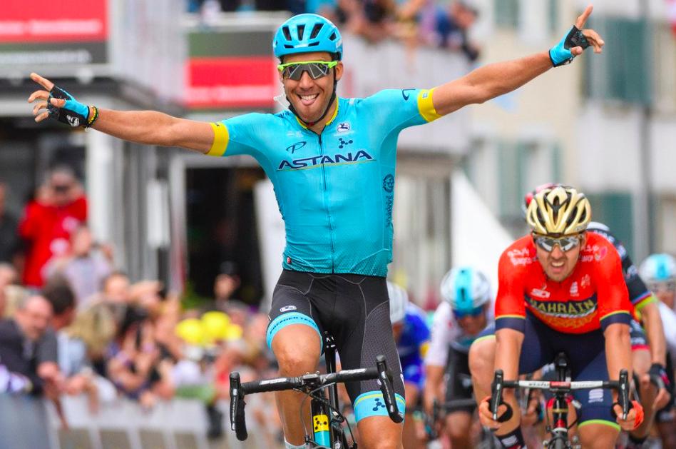 Omar Fraile s'impose sur la 1ere étape Tour de Romandie