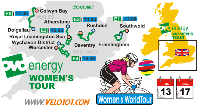 OVO Energy Women's Tour 2018