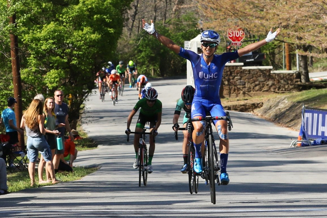 Penuela gagne la 1ère étape de la JMSR 2018