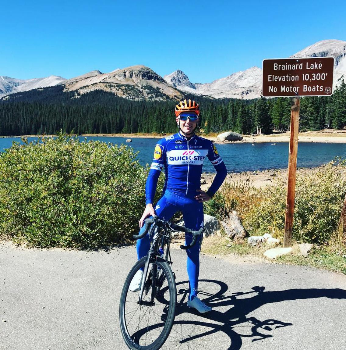Petr Vakoc de retour sur le vélo