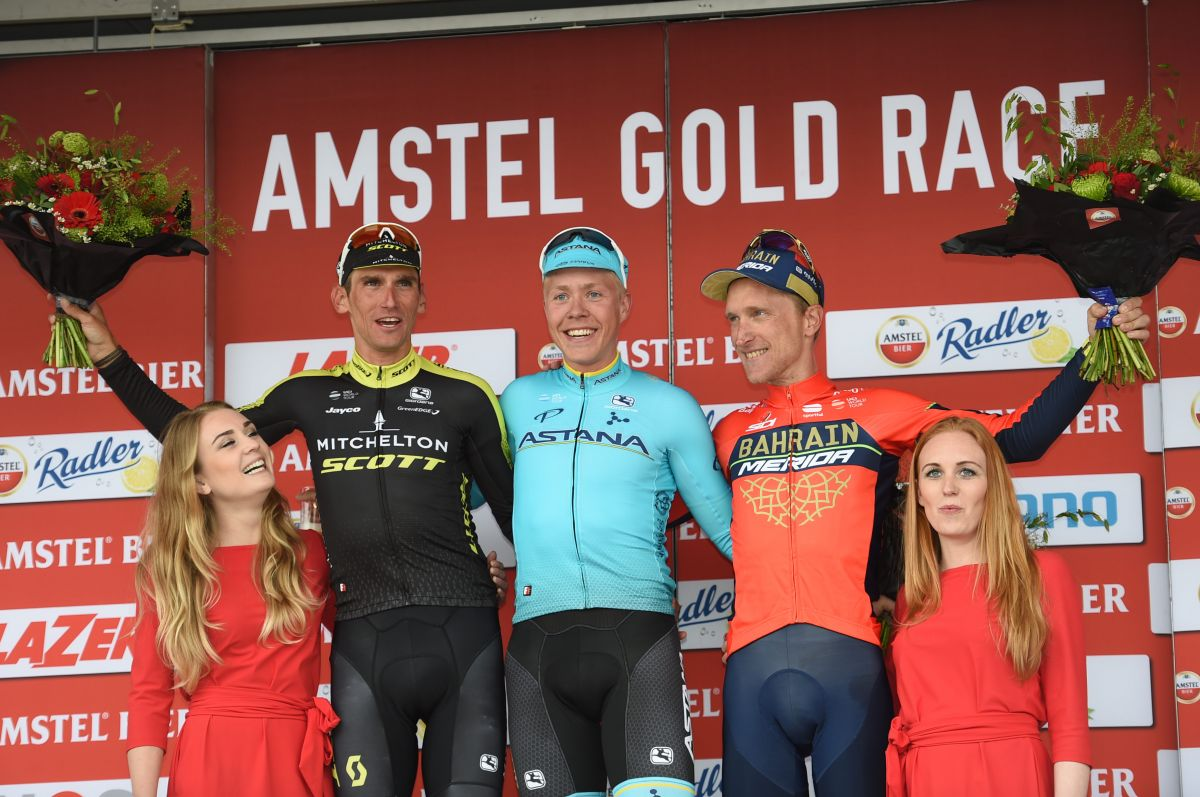 Podium Amstel Gold Race 2018