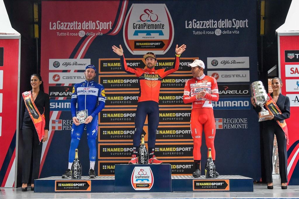 Podium du Tour de Lombardie