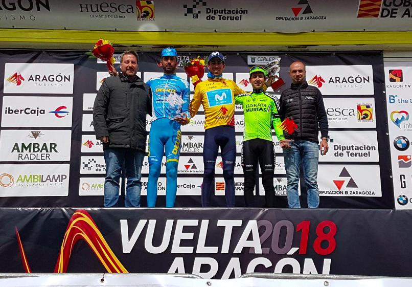 Podium Tour Aragon Jaime Roson