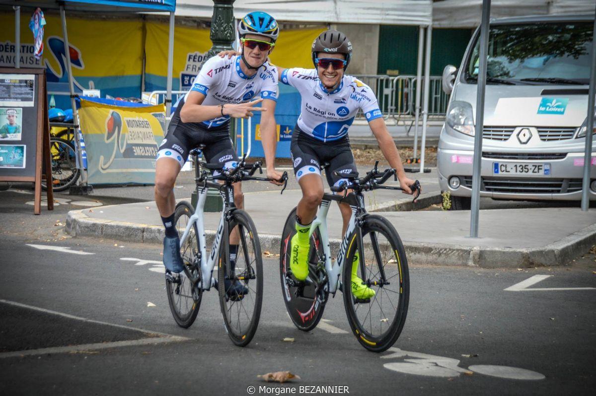 Rémy Rochas et Emile Brenans