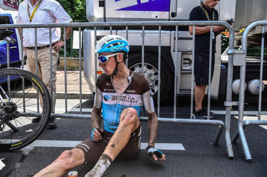 Romain Bardet Tour de France Roubaix