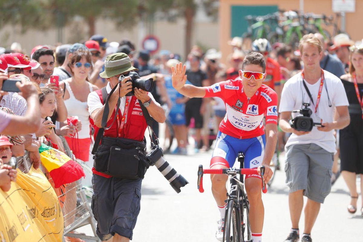 Rudy Mollard leader Vuelta