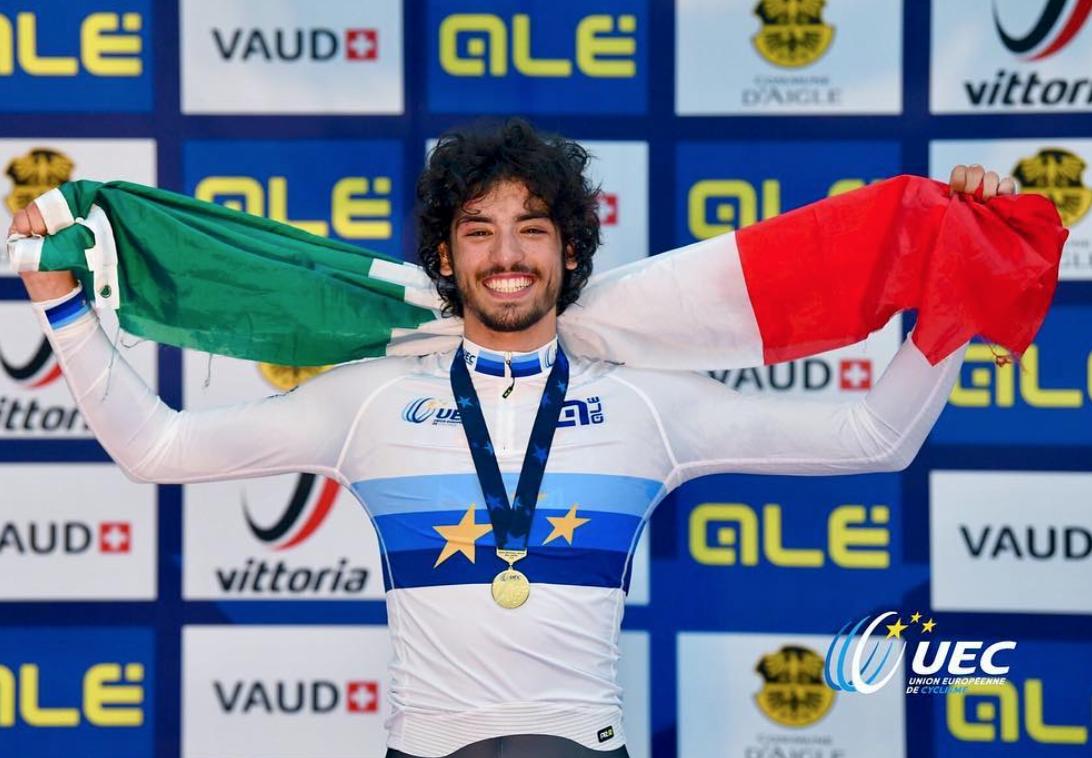Samuele Manfredi champion d'europe