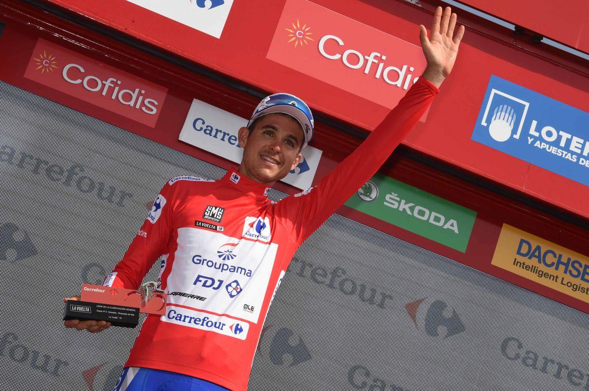 Rudy Molard Podium de la Vuelta