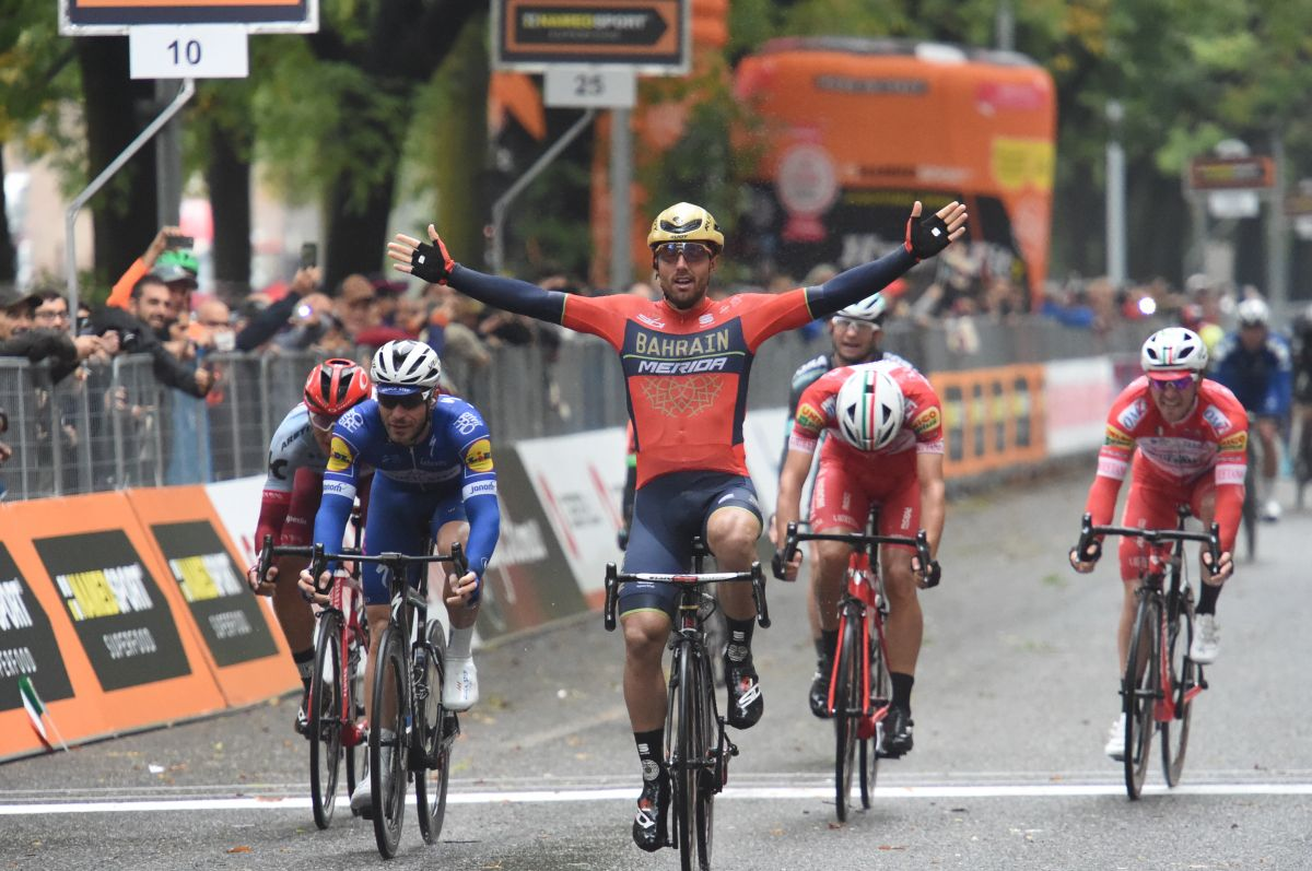 Sonny Colbrelli vainqueur du Gran Piemonte