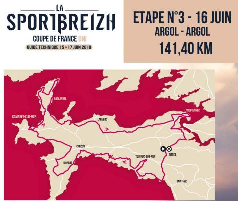 Sportbrzeizh 2018 étape 3