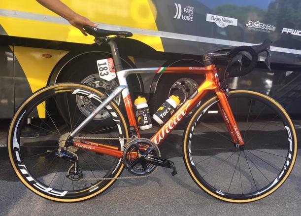 Sylvain Chavanel Bike 1