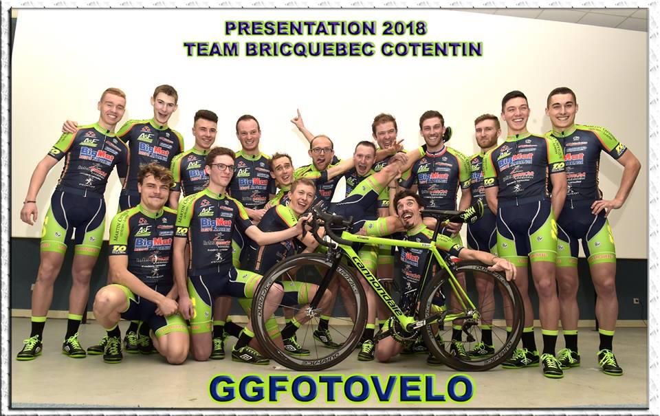 Team Bricquebec Cotentin 2018