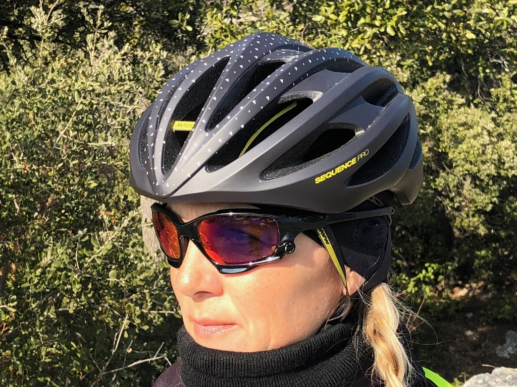 Test du casque Mavic Sequence Pro pour femme