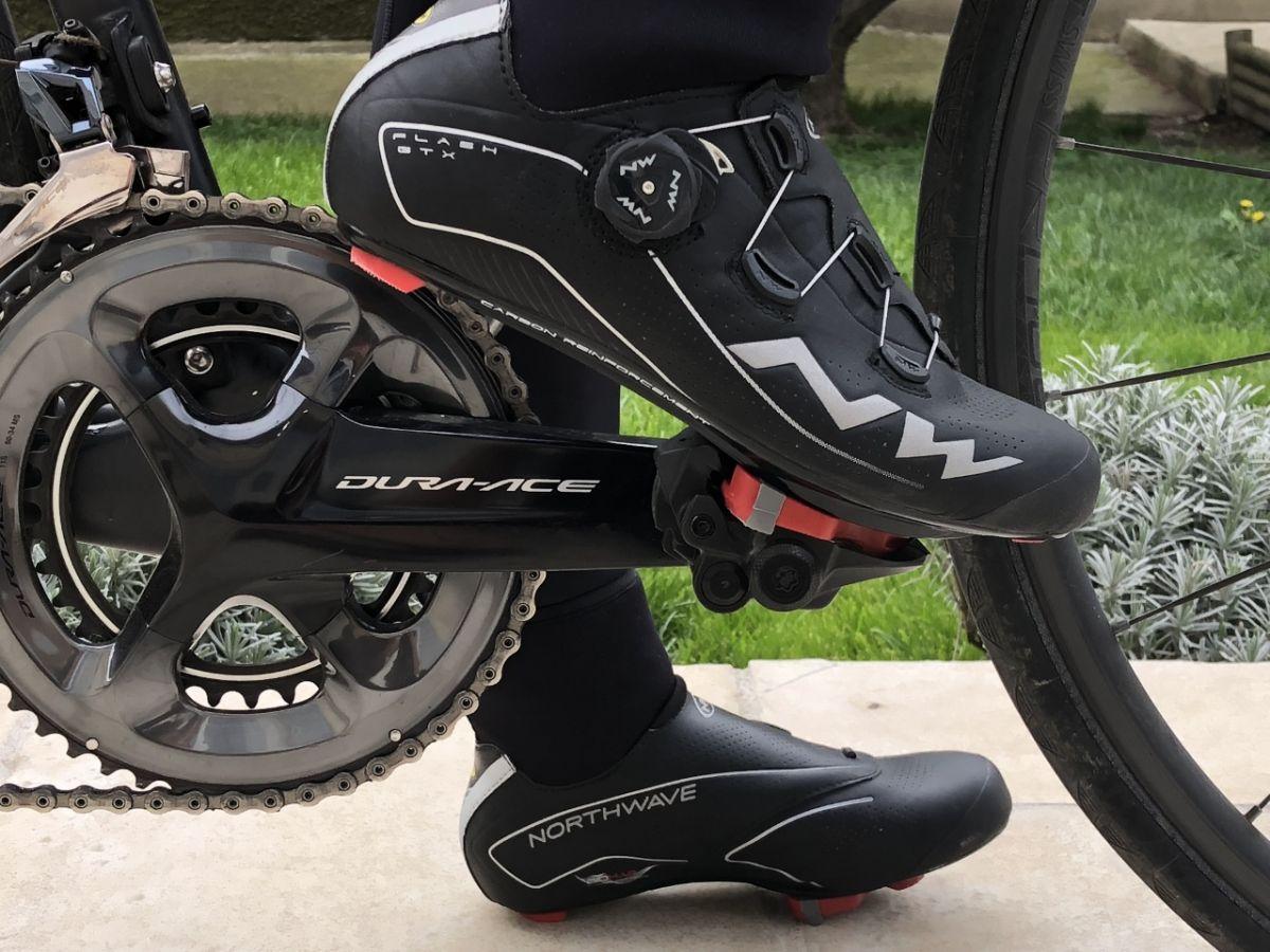 Test des chaussures de route hiver NORTHWAVE Flash GTX