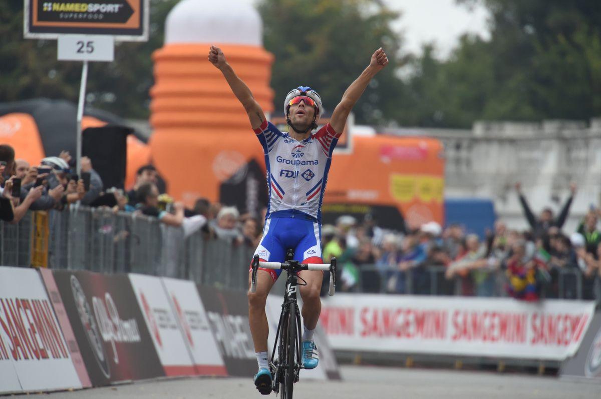 Thibaut Pinot succède à Laurent Jalabert au palmarès de Milan-Turin — Cyclisme