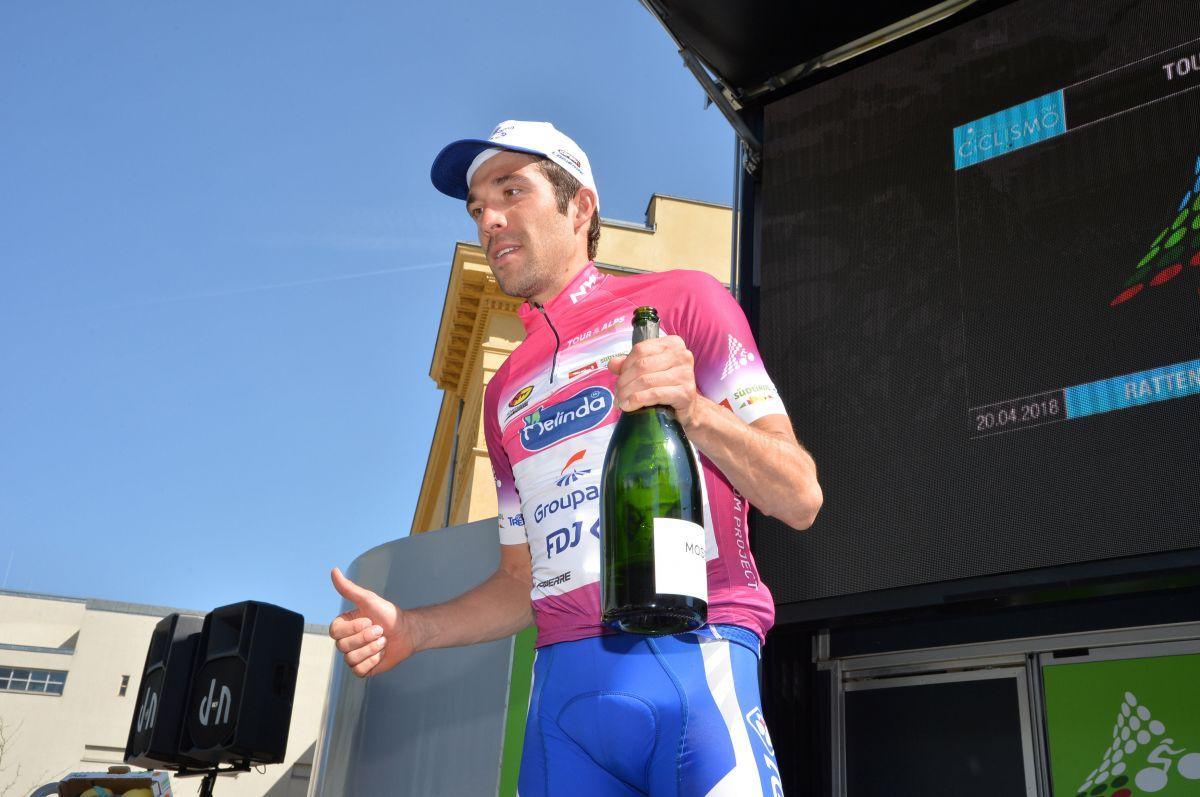 Thibaut Pinot vainqueur du Tour des Alpes