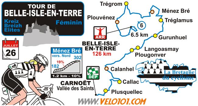 Tour de Belle-Isle-en-Terre 2018